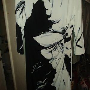 NWOT Lauren Ralph Lauren Floral Midi Dress Sz 14